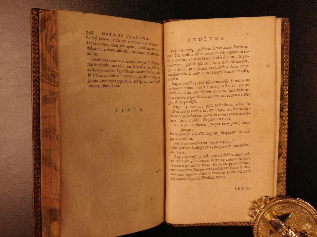 1654 Roman History Velleius Paterculus Carthage ROME - 10