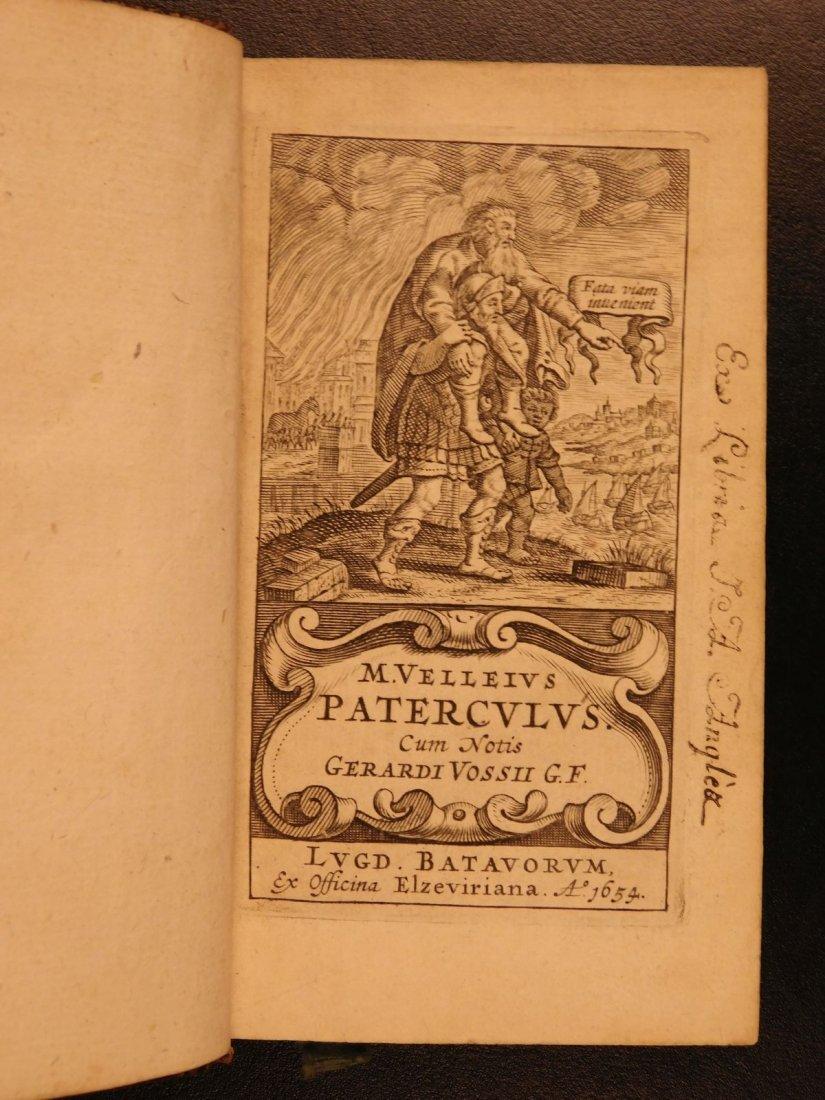 1654 Roman History Velleius Paterculus Carthage ROME - 3