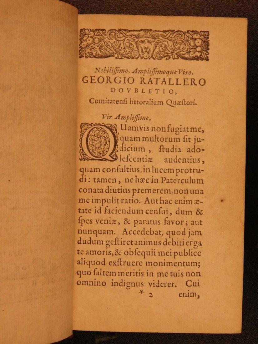 1654 Roman History Velleius Paterculus Carthage ROME - 4