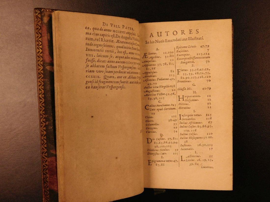 1654 Roman History Velleius Paterculus Carthage ROME - 6