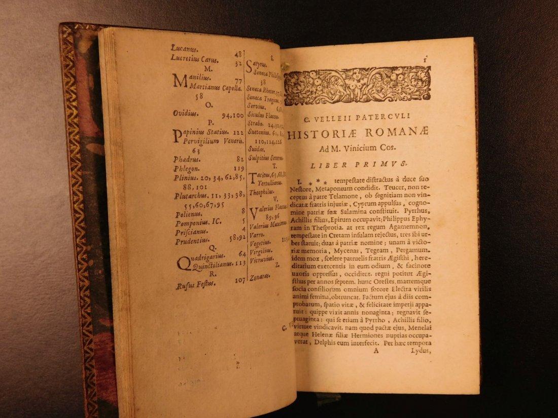 1654 Roman History Velleius Paterculus Carthage ROME - 7