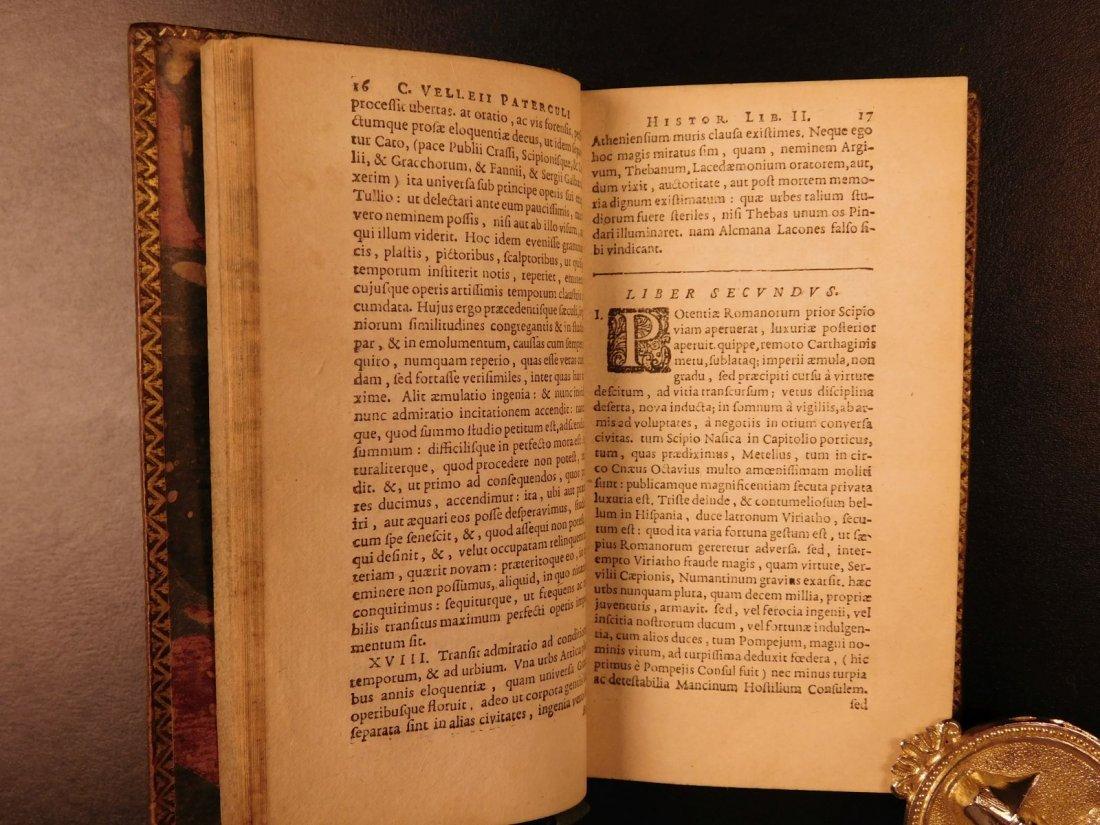 1654 Roman History Velleius Paterculus Carthage ROME - 8