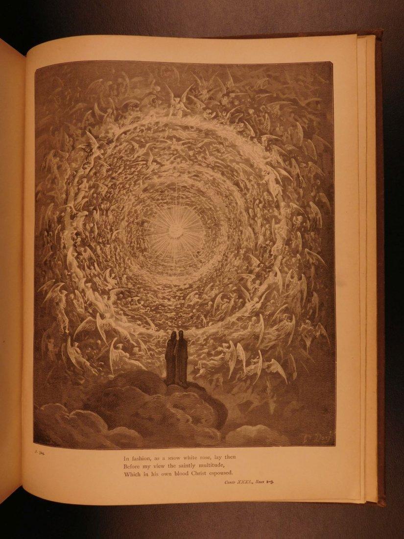 1890 Dante Divine Comedy Purgatory & Paradise DORE - 10