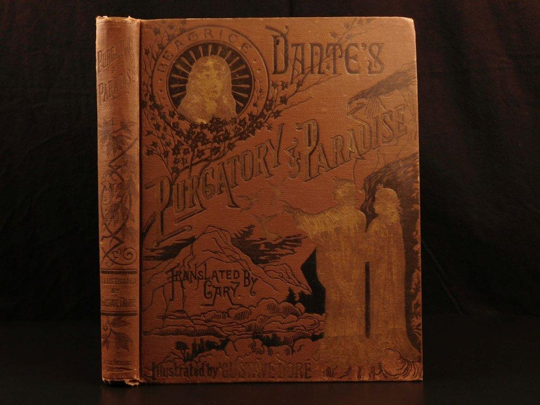 1890 Dante Divine Comedy Purgatory & Paradise DORE