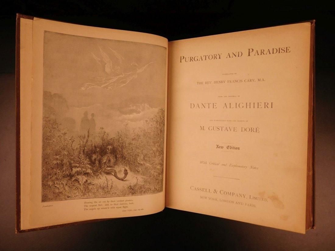1890 Dante Divine Comedy Purgatory & Paradise DORE - 2