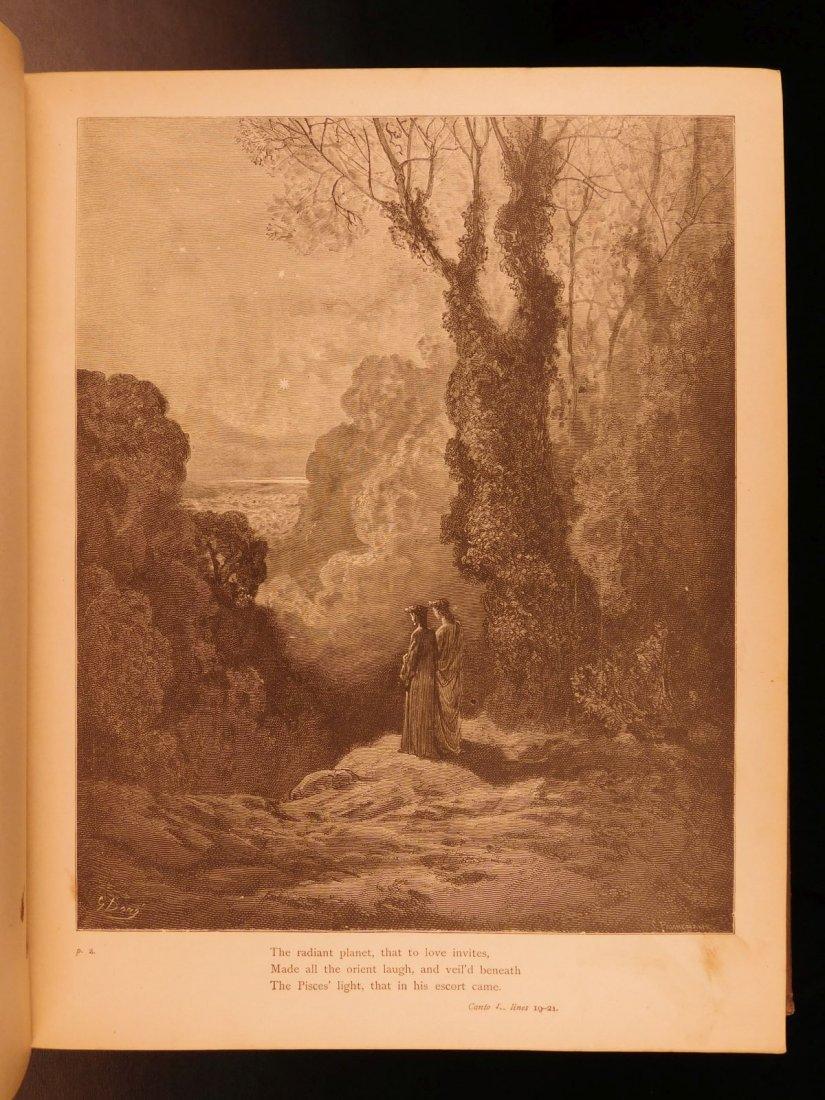 1890 Dante Divine Comedy Purgatory & Paradise DORE - 3