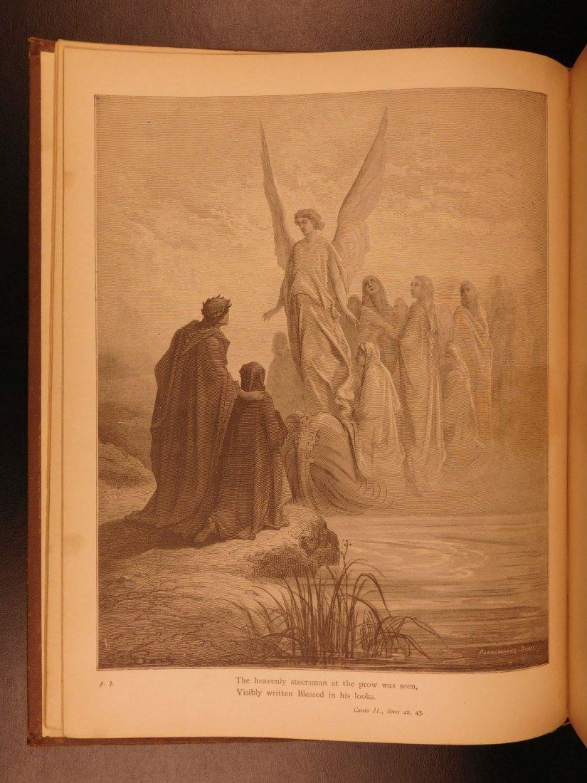 1890 Dante Divine Comedy Purgatory & Paradise DORE - 4