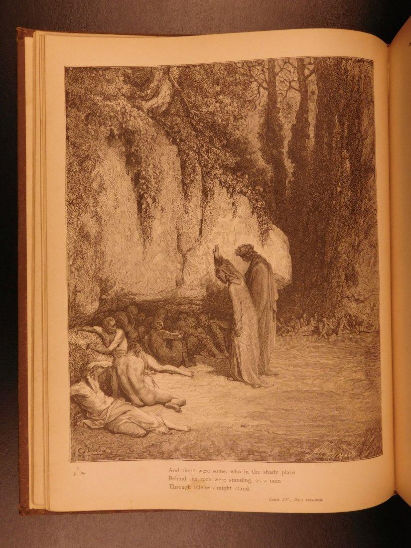 1890 Dante Divine Comedy Purgatory & Paradise DORE - 5