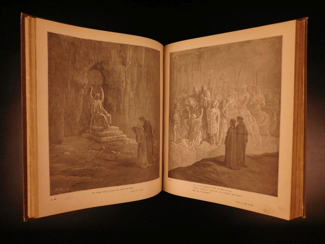 1890 Dante Divine Comedy Purgatory & Paradise DORE - 6