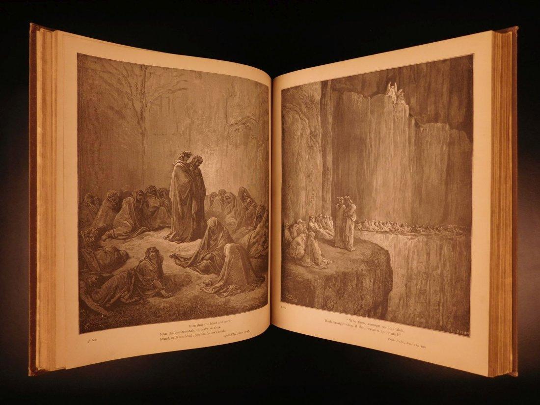 1890 Dante Divine Comedy Purgatory & Paradise DORE - 7