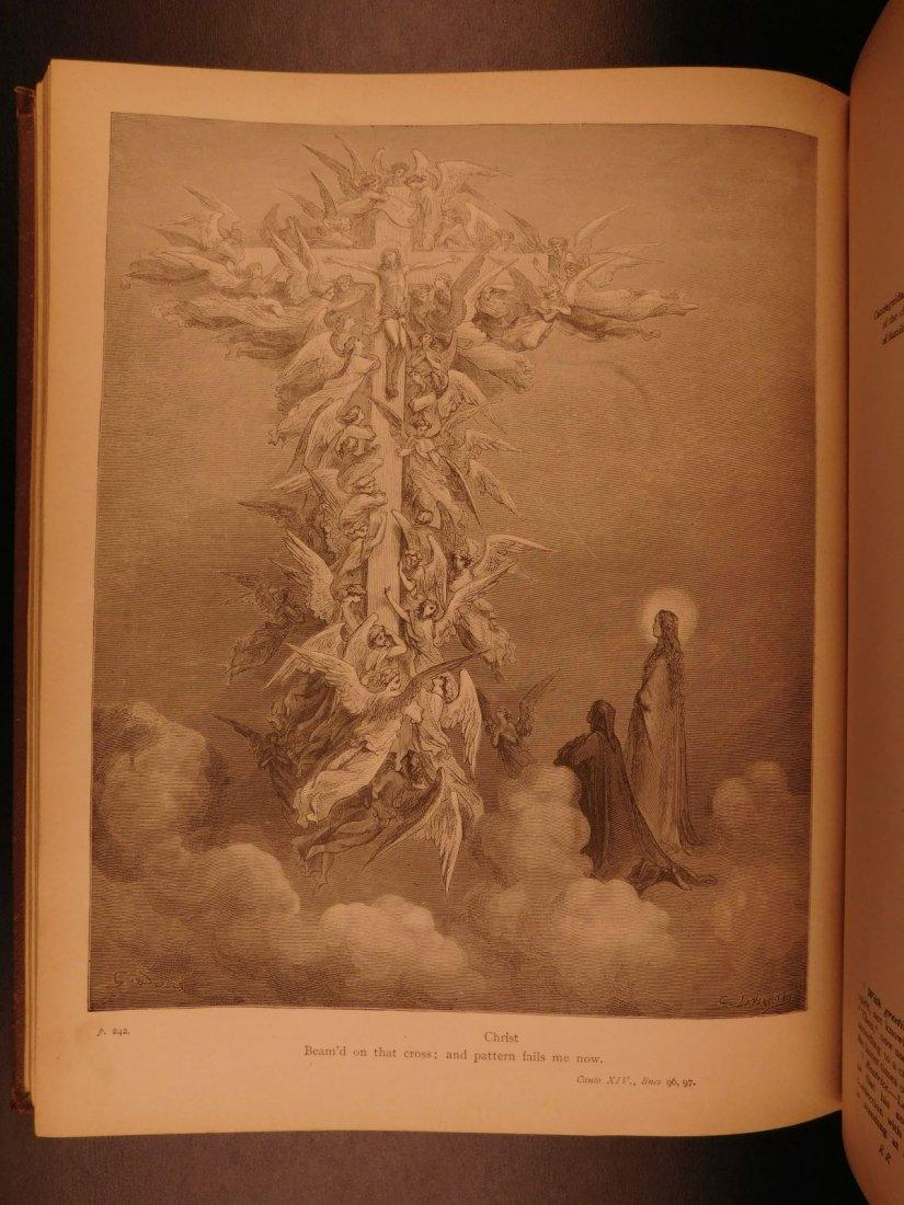 1890 Dante Divine Comedy Purgatory & Paradise DORE - 8