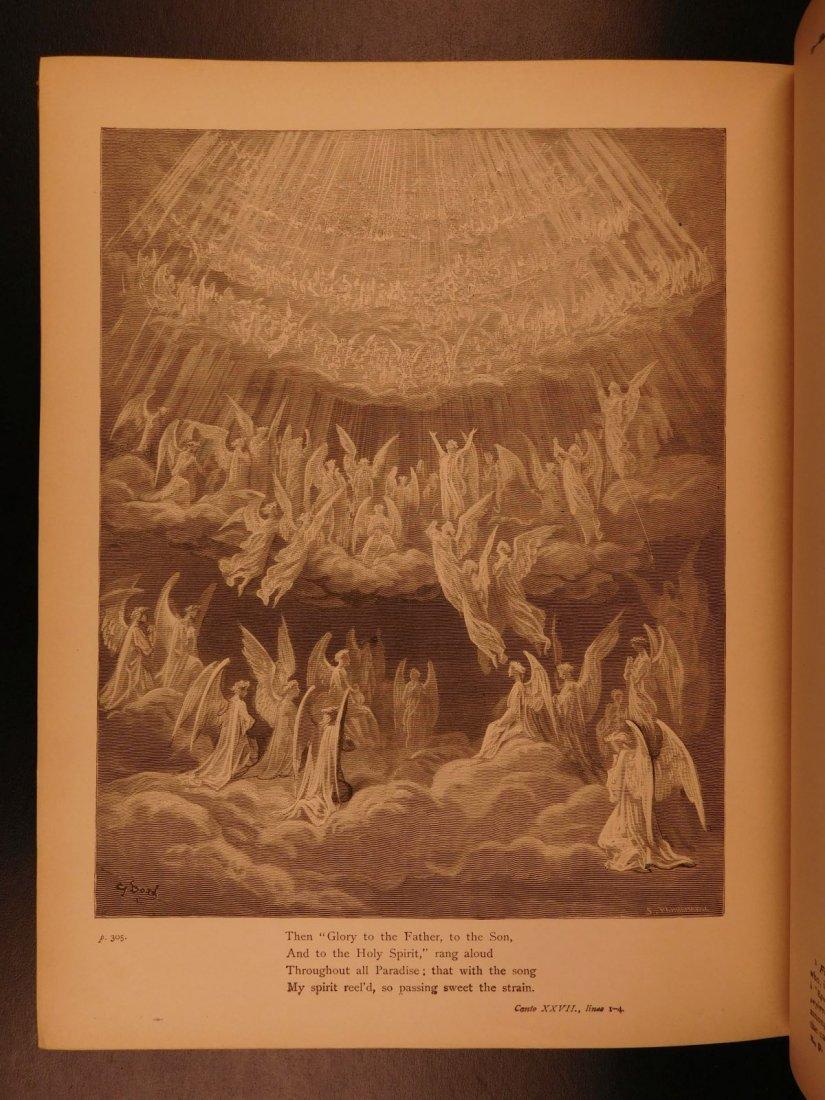 1890 Dante Divine Comedy Purgatory & Paradise DORE - 9