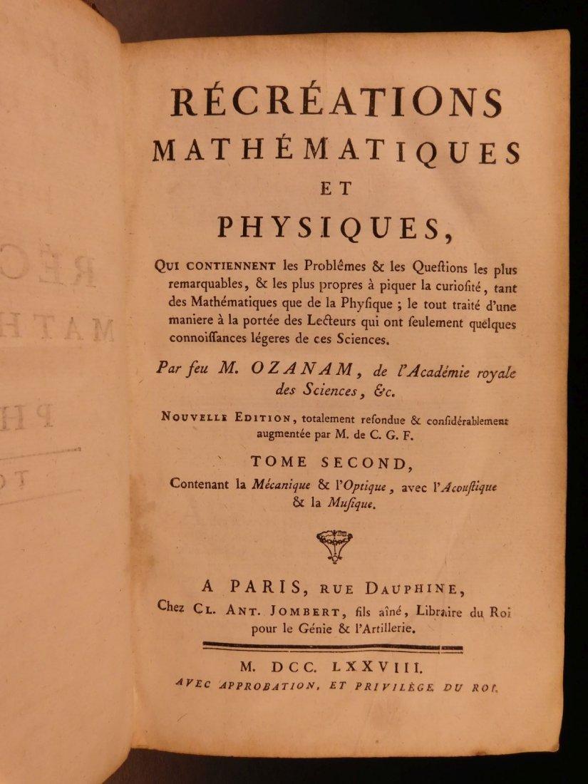 1778 Mathematics & Physics Mechanics Magic Lantern - 2