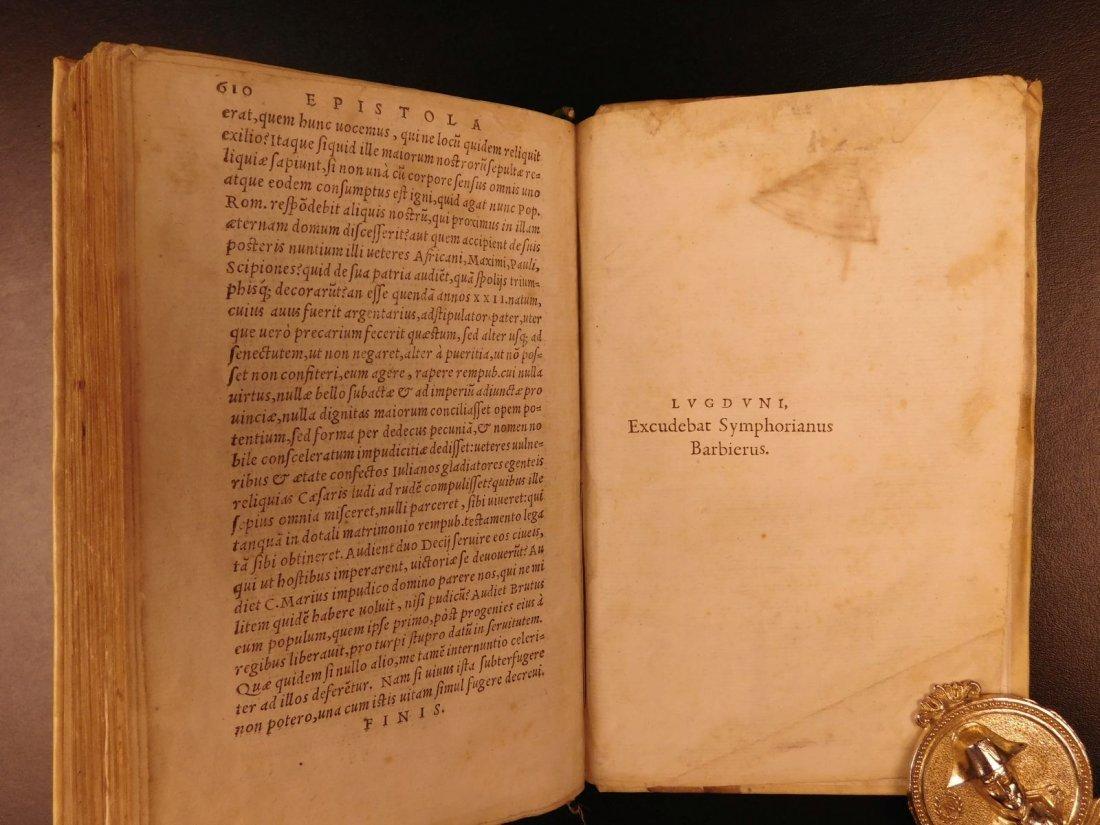 1560 CICERO Epistolae Letters Roman Republic Julius - 10