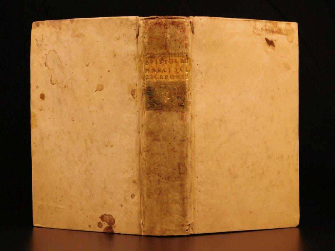 1560 CICERO Epistolae Letters Roman Republic Julius