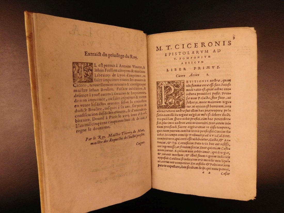 1560 CICERO Epistolae Letters Roman Republic Julius - 3