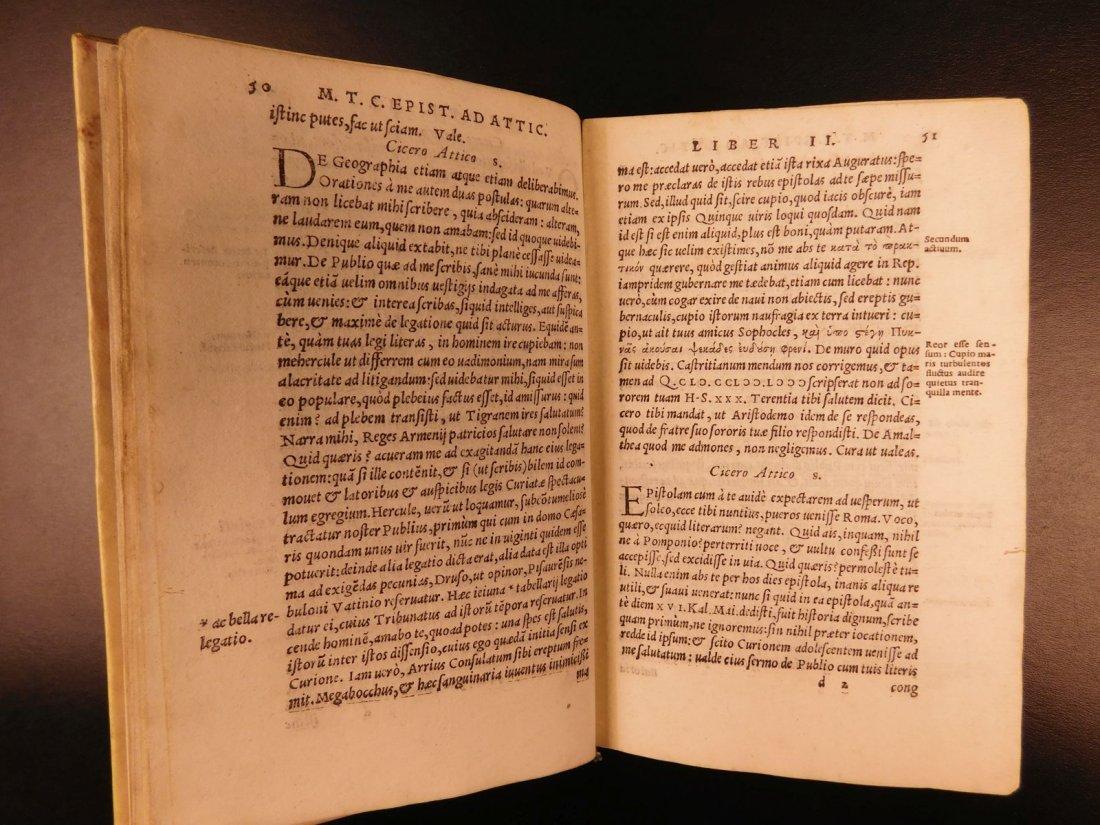 1560 CICERO Epistolae Letters Roman Republic Julius - 4