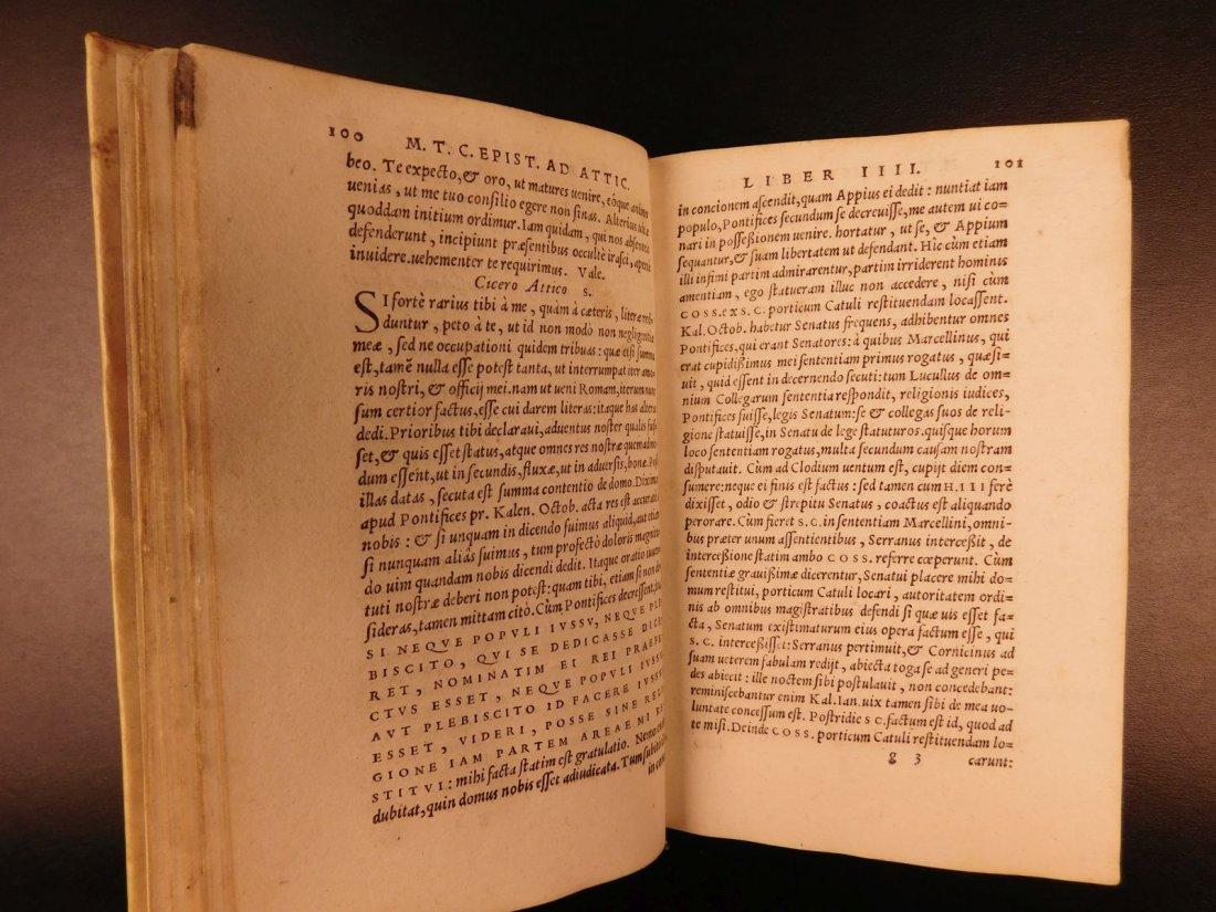 1560 CICERO Epistolae Letters Roman Republic Julius - 5