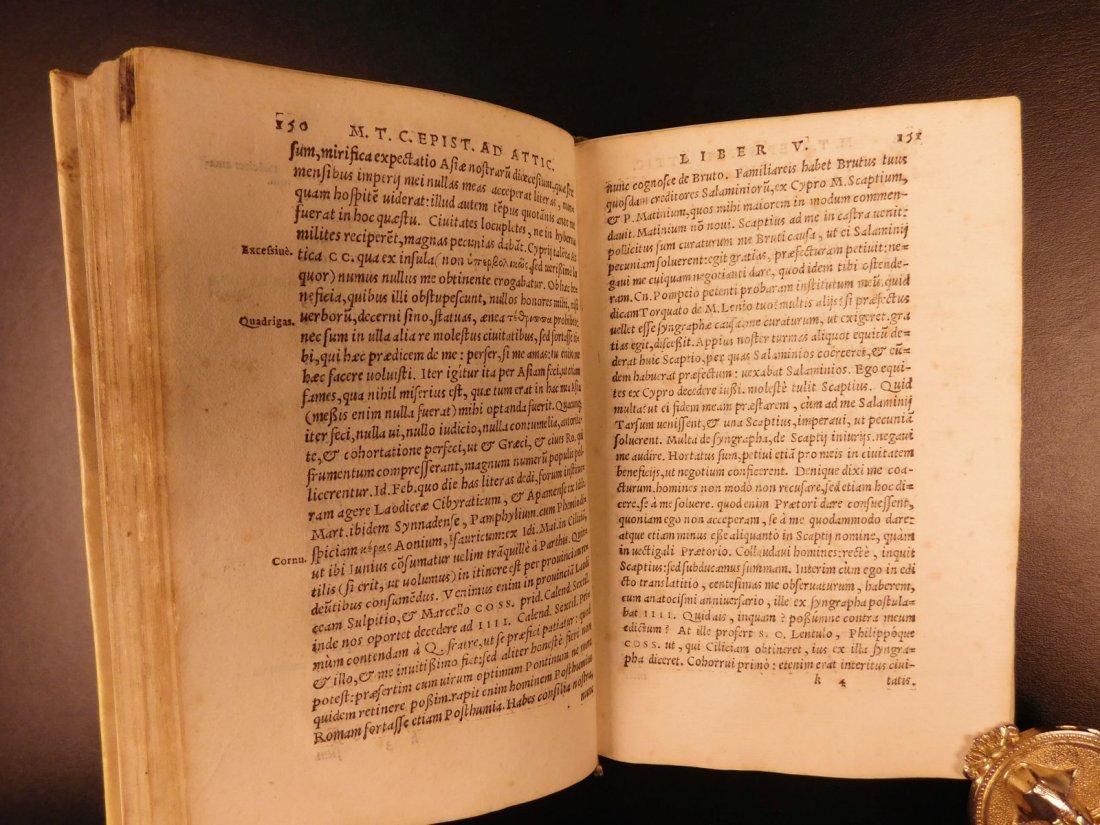1560 CICERO Epistolae Letters Roman Republic Julius - 6