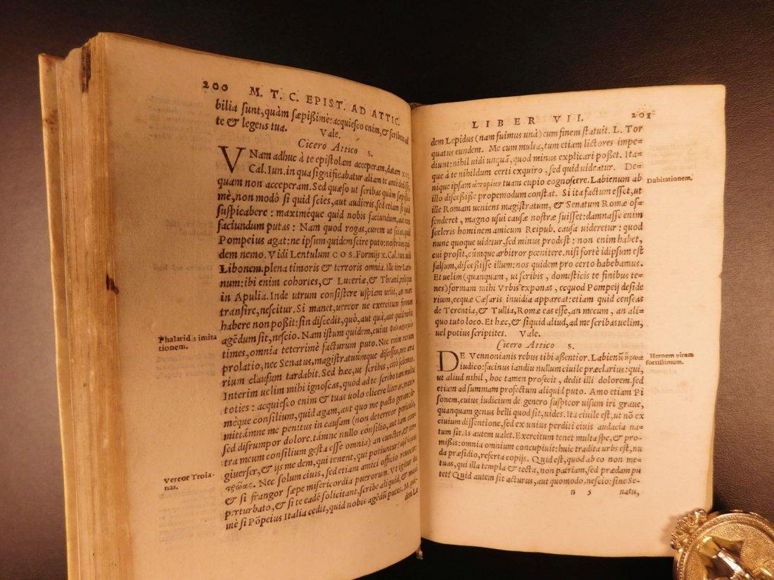 1560 CICERO Epistolae Letters Roman Republic Julius - 7
