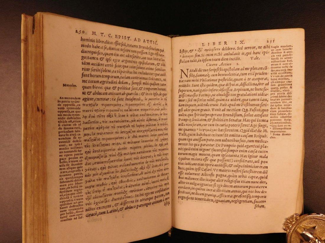 1560 CICERO Epistolae Letters Roman Republic Julius - 8