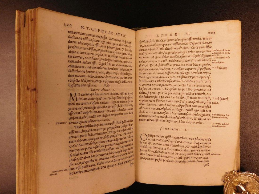 1560 CICERO Epistolae Letters Roman Republic Julius - 9