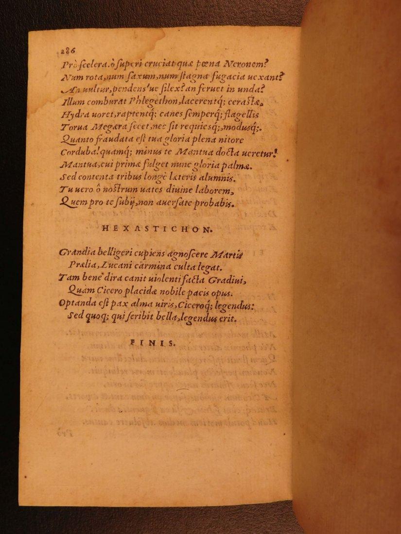 1547 PHARSALIA Julius Caesar Civil War Lucan Pompey - 10