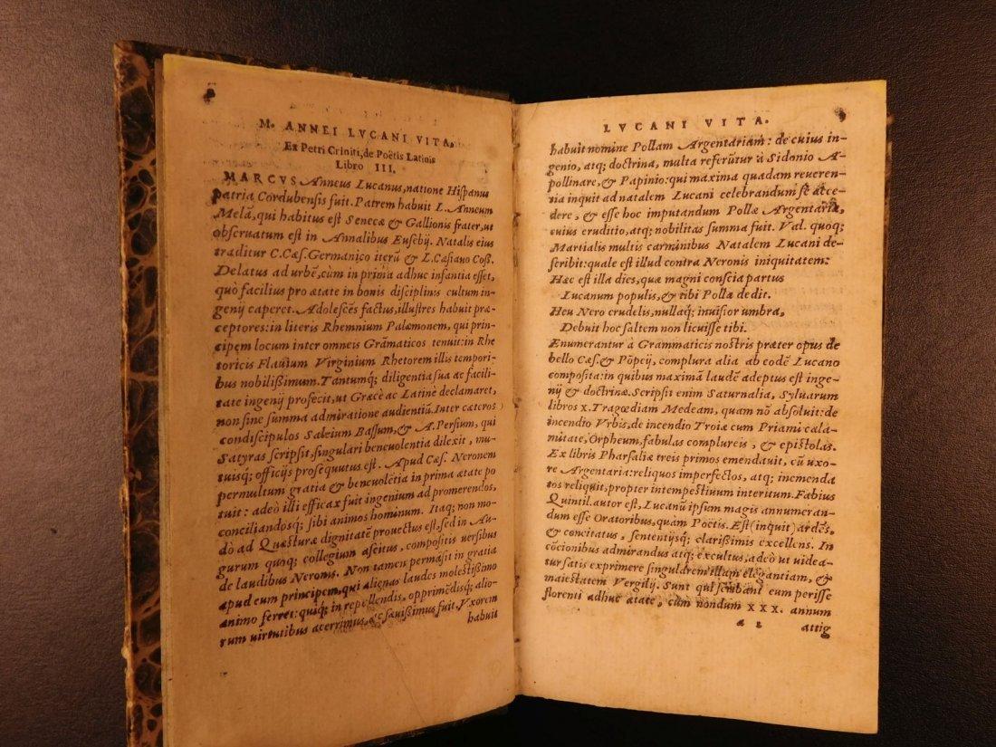 1547 PHARSALIA Julius Caesar Civil War Lucan Pompey - 3
