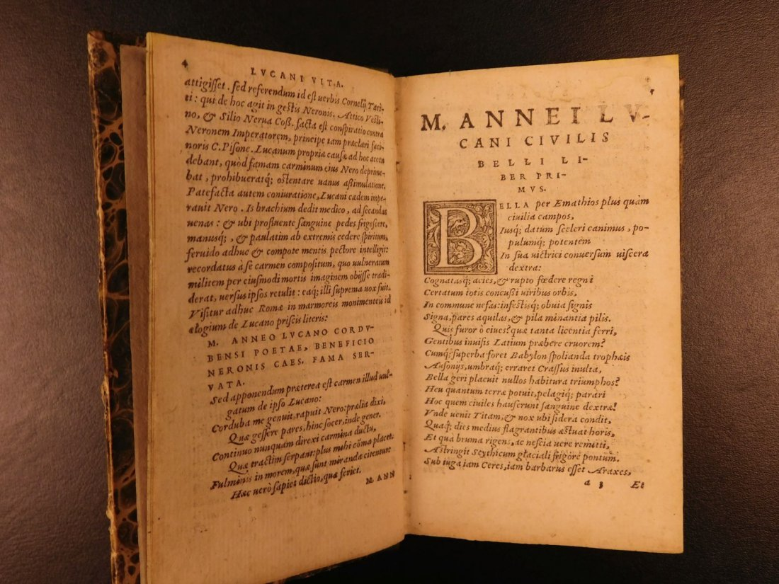 1547 PHARSALIA Julius Caesar Civil War Lucan Pompey - 4
