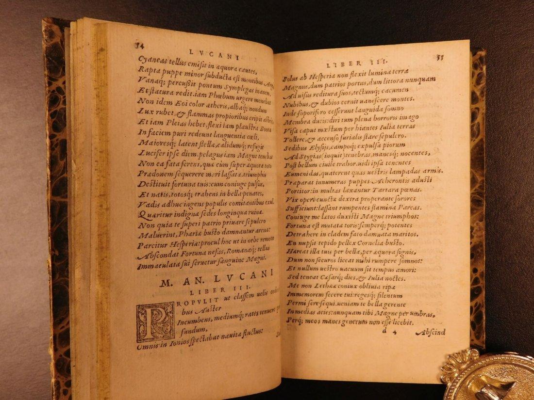 1547 PHARSALIA Julius Caesar Civil War Lucan Pompey - 6