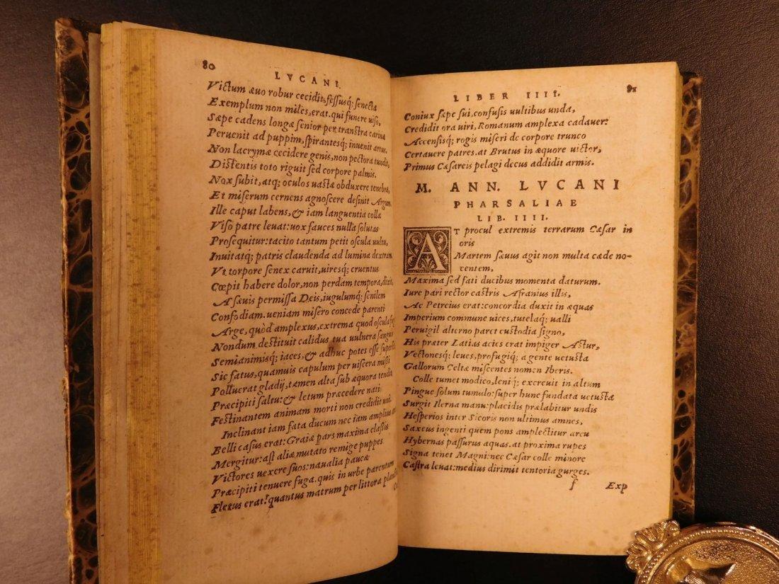1547 PHARSALIA Julius Caesar Civil War Lucan Pompey - 7