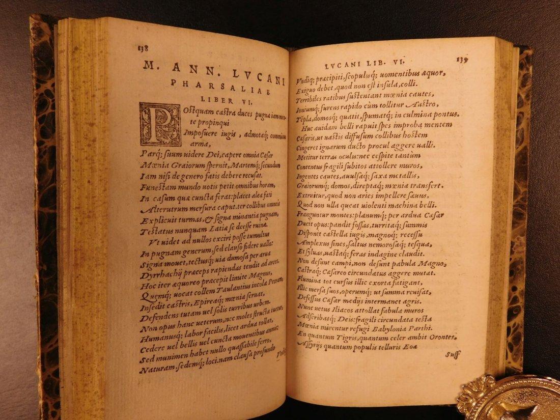 1547 PHARSALIA Julius Caesar Civil War Lucan Pompey - 9