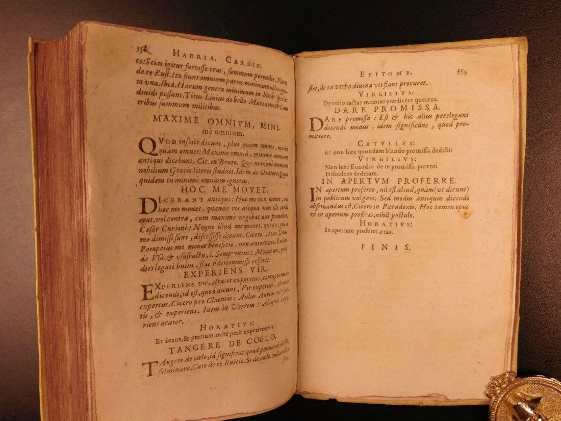 1596 Jesuit Pontanus Art of Writing Renaissance - 10