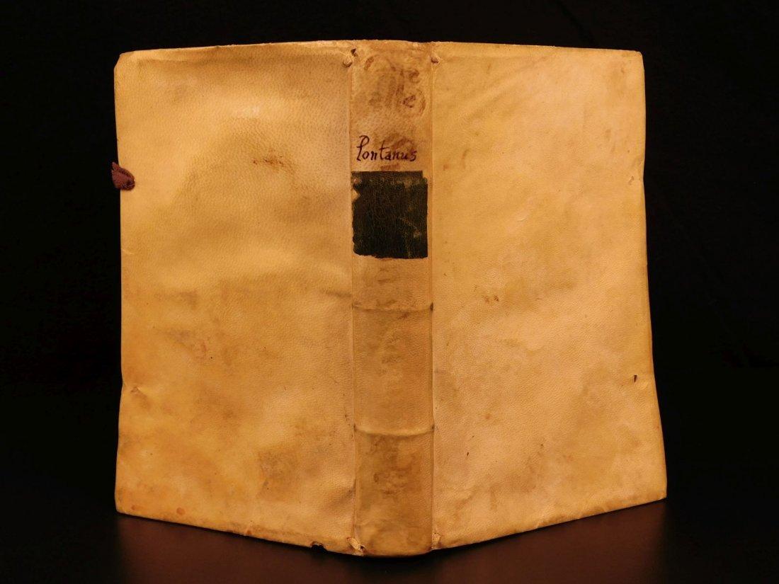 1596 Jesuit Pontanus Art of Writing Renaissance