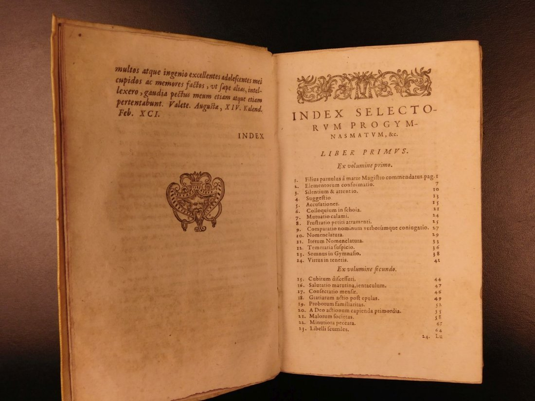 1596 Jesuit Pontanus Art of Writing Renaissance - 4