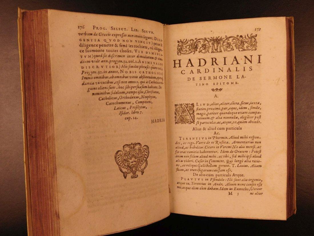 1596 Jesuit Pontanus Art of Writing Renaissance - 8