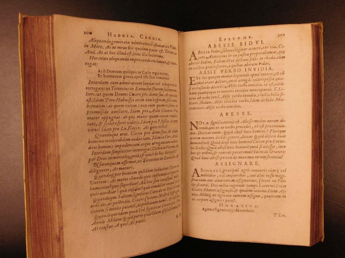 1596 Jesuit Pontanus Art of Writing Renaissance - 9