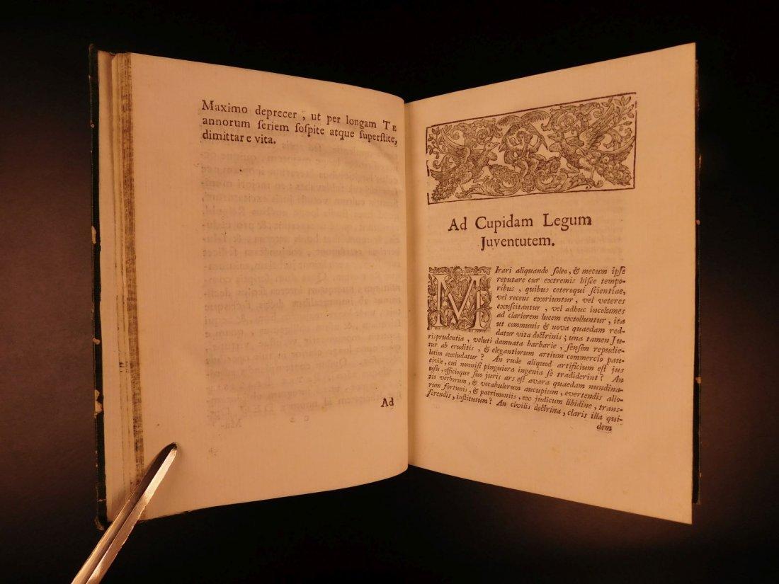1713 1ed Originum Juris Civilis Thomas Jefferson - 5