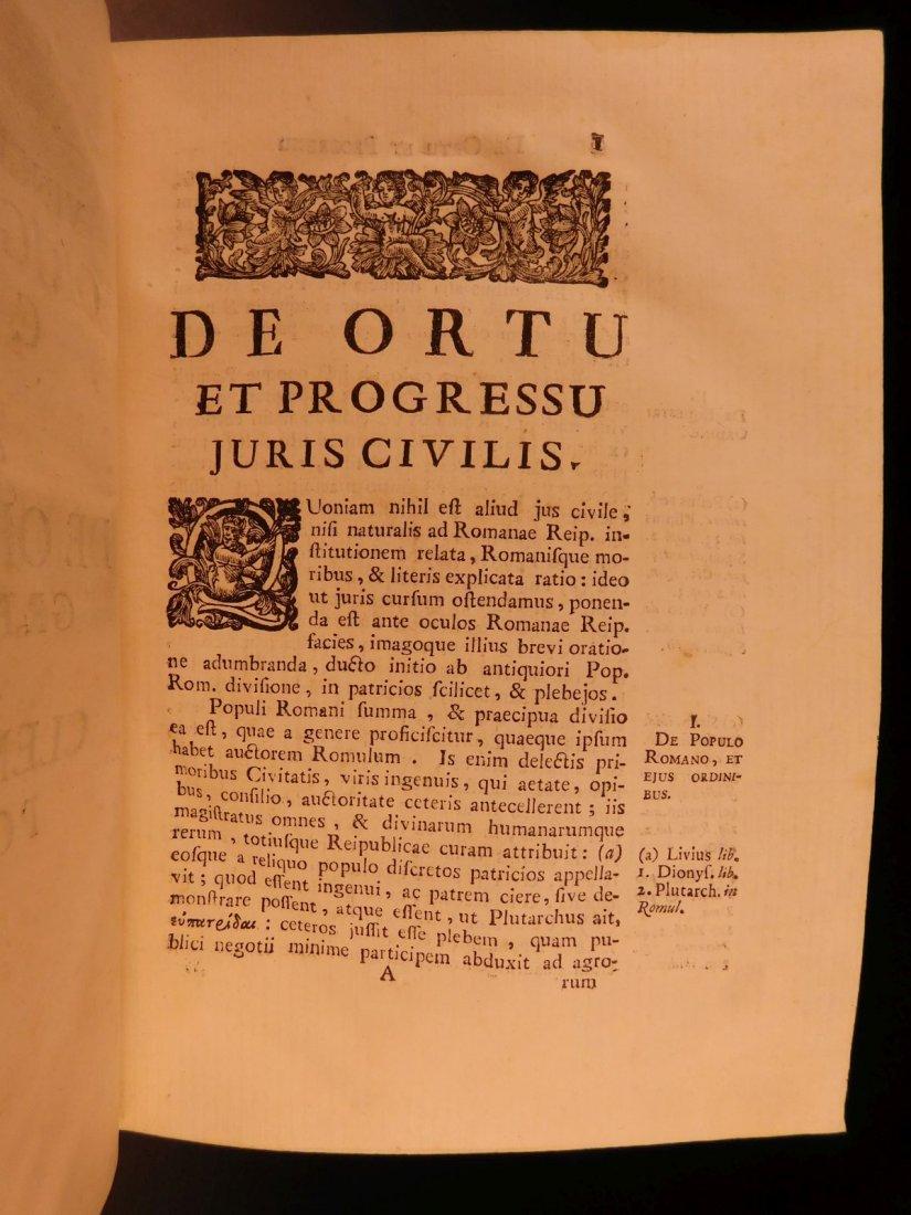 1713 1ed Originum Juris Civilis Thomas Jefferson - 7
