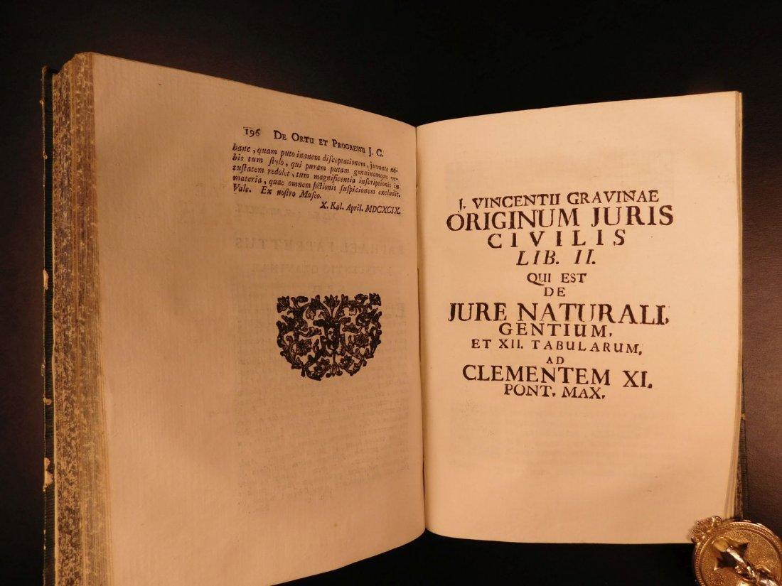 1713 1ed Originum Juris Civilis Thomas Jefferson - 8