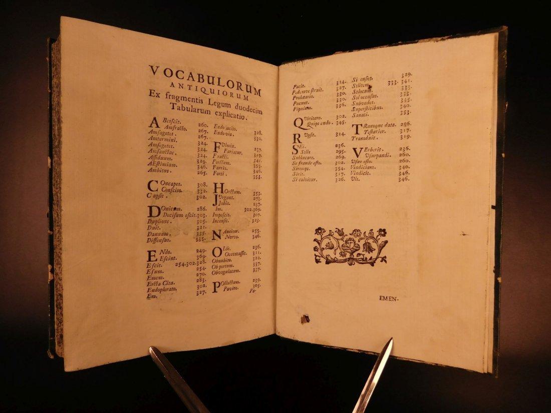 1713 1ed Originum Juris Civilis Thomas Jefferson - 9