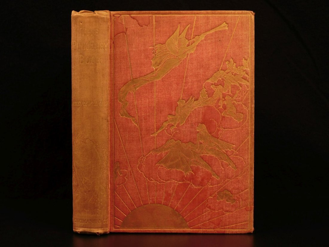 1897 1st ed Pink Fairy Book Snow Queen Andrew Lang