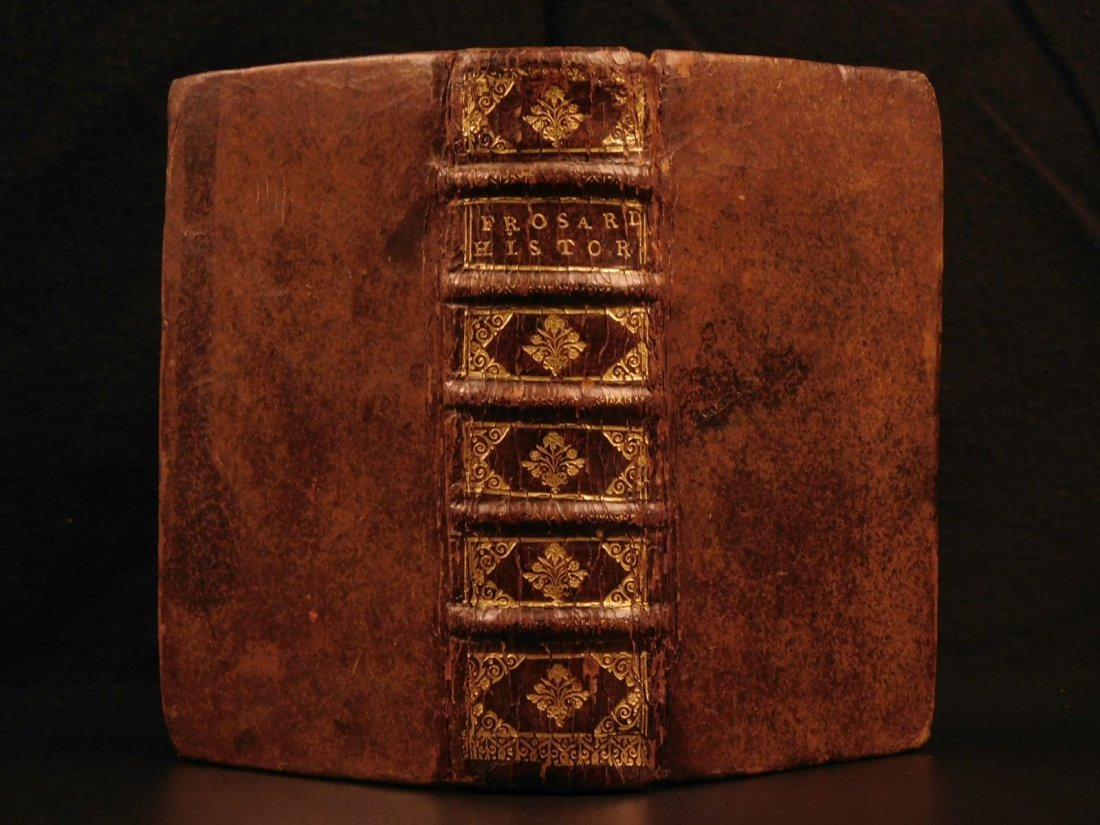 1656 1st ed Chronicles of Jean Froissart ELZEVIER