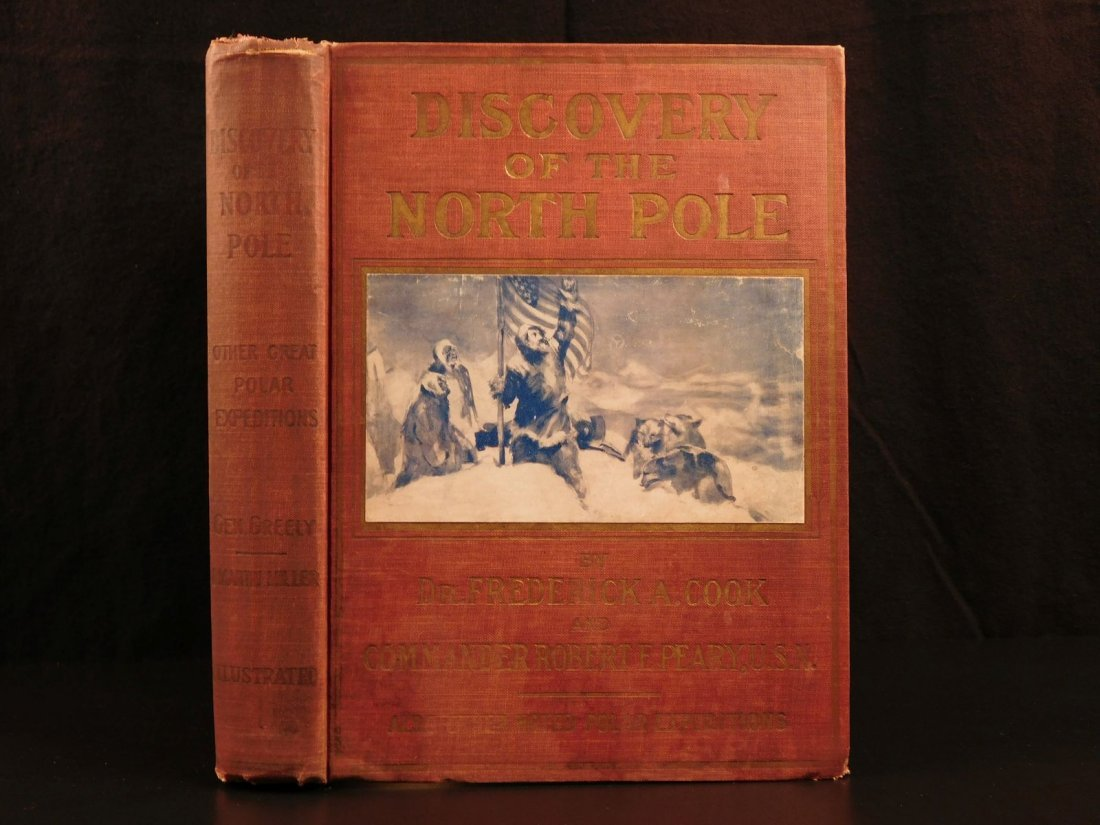 1909 Discovery of North Pole American Cook & Peary