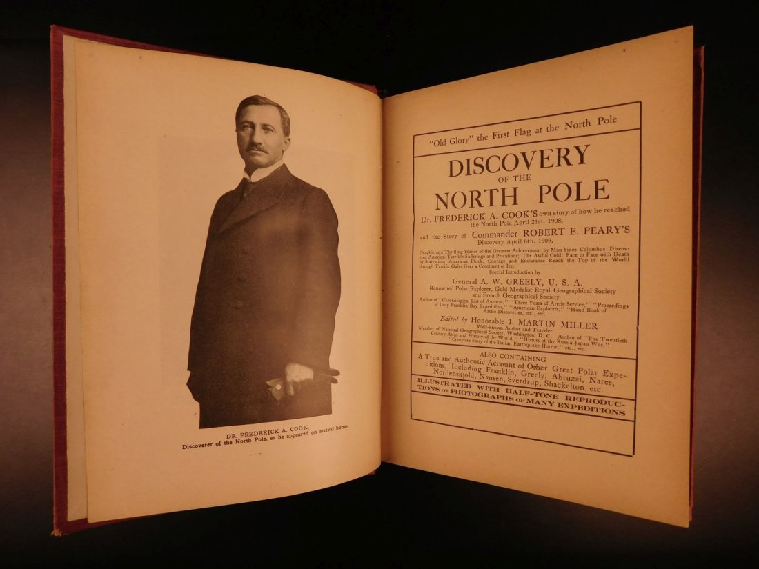 1909 Discovery of North Pole American Cook & Peary - 3