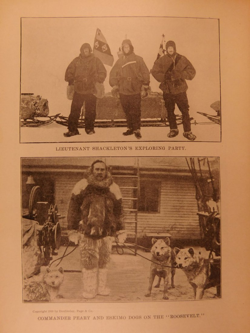 1909 Discovery of North Pole American Cook & Peary - 9