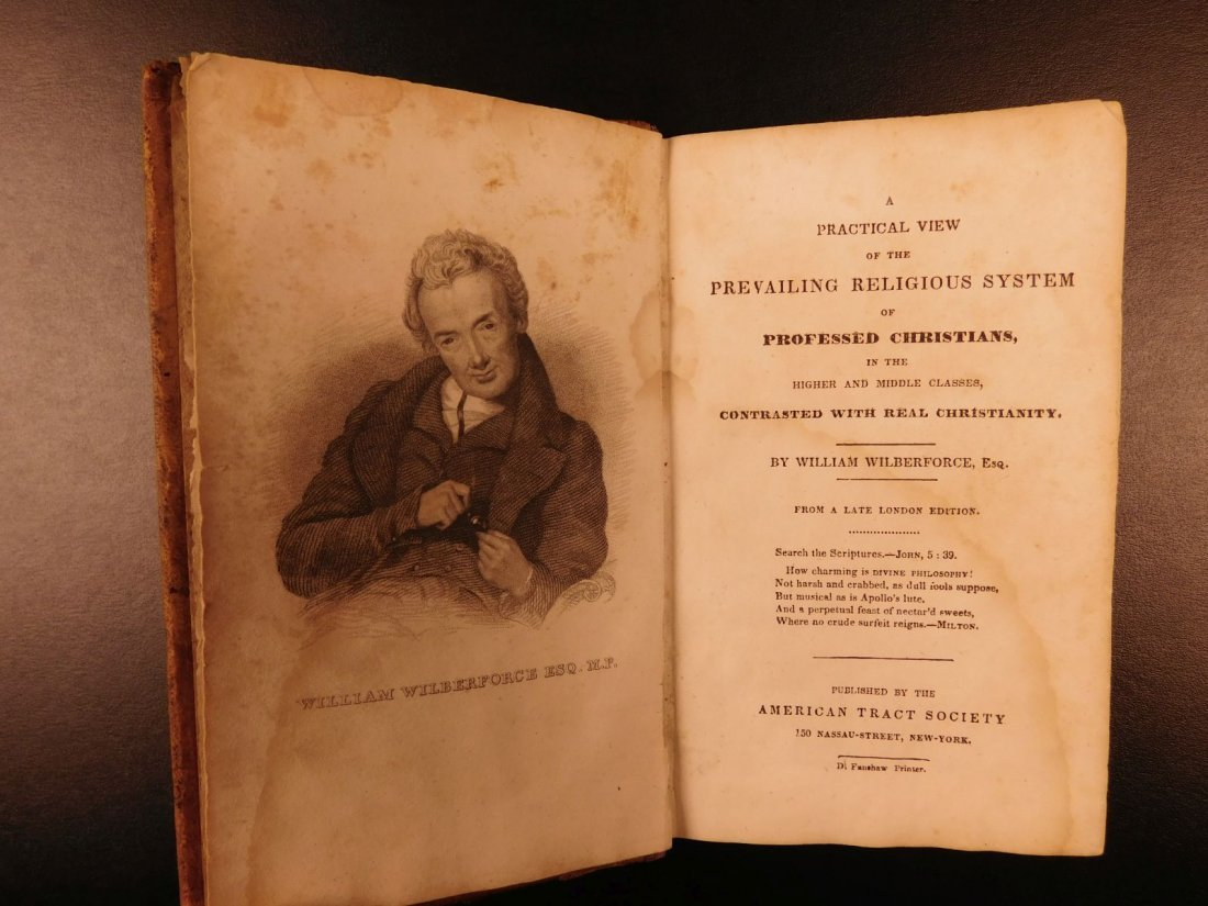 1830 1ed William Wilberforce Famous Slavery Abolition - 3