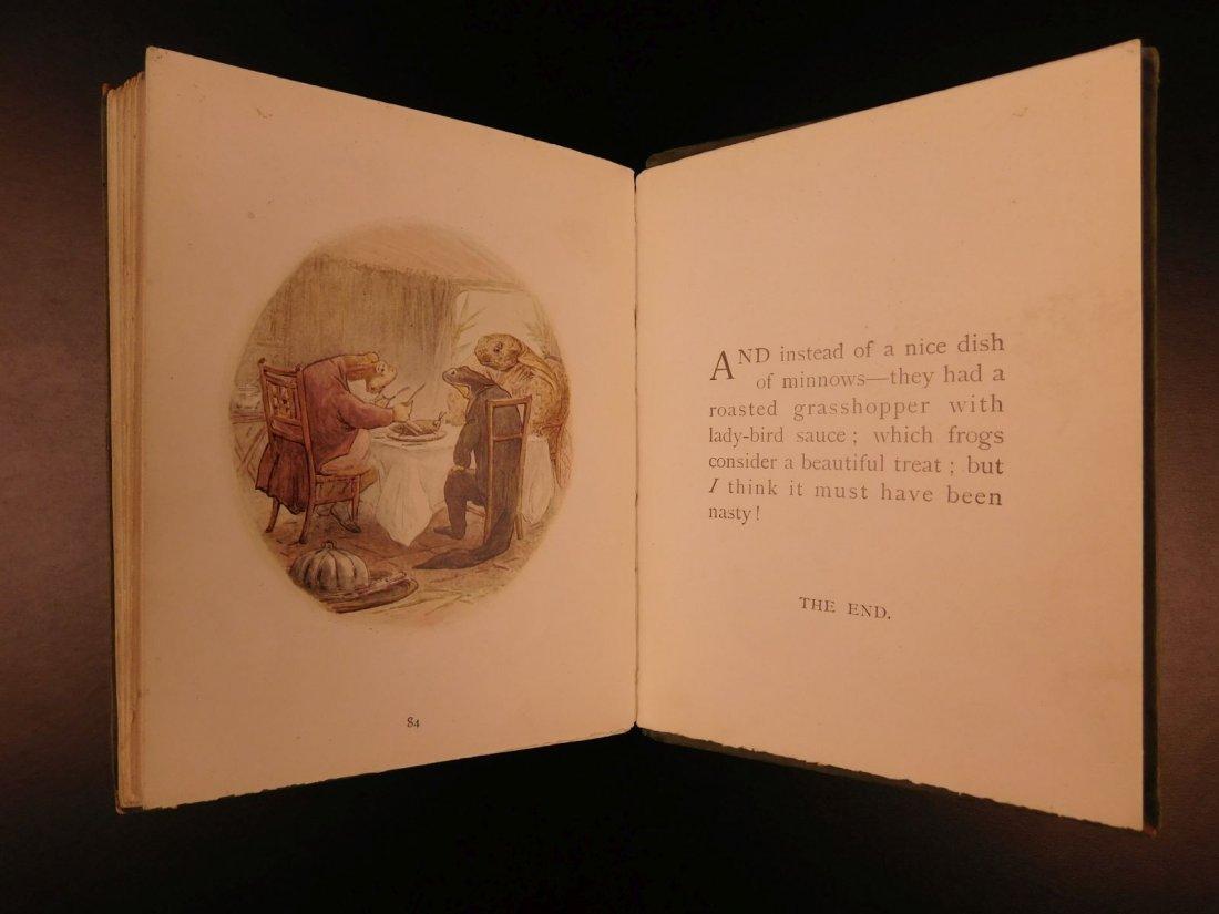 1906 1ed Tale of Mr Jeremy Fisher Beatrix Potter - 10