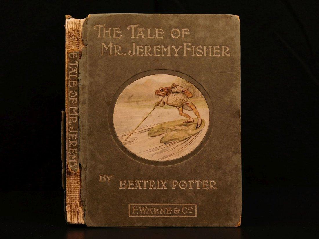 1906 1ed Tale of Mr Jeremy Fisher Beatrix Potter