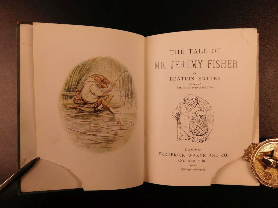1906 1ed Tale of Mr Jeremy Fisher Beatrix Potter - 3
